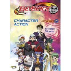Bücher: Beyblade. Character Action mit Stickern