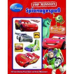 Bücher: Disney: Activity Pixar Spionagespaß  von Pixar, Walt Disney