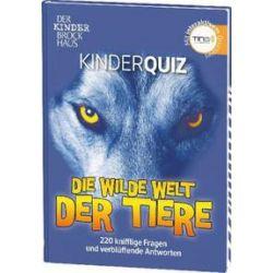 Bücher: Der Kinder Brockhaus TING Kinderquiz Die wilde Welt der Tiere