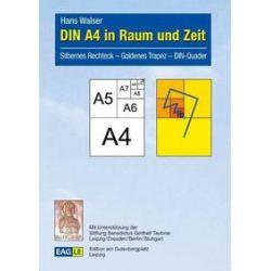 Bücher: DIN A4 in Raum und Zeit  von Hans Walser