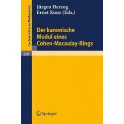 Bücher: Der kanonische Modul eines Cohen-Macaulay-Rings  von J. Herzog, E. Kunz