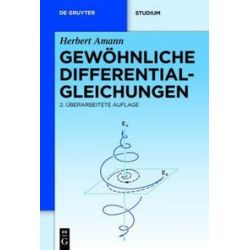 Bücher: Gewöhnliche Differentialgleichungen  von Herbert Amann