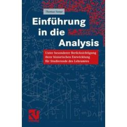 Bücher: Einführung in die Analysis  von Thomas Sonar