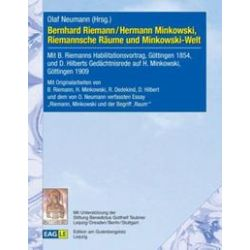 Bücher: Bernhard Riemann / Hermann Minkowski, Riemannsche Räume und Minkowski-Welt  von Olaf Neumann