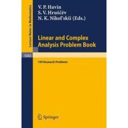 Bücher: Linear und Complex Analysis Problem Book  von V. P. Havin, S. V. Hruscev, N. K. Nikol'skii, V. I. Vasyunin