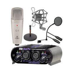 Behringer Behringer C1 and ART USB Dual Pre Vocal & B&H