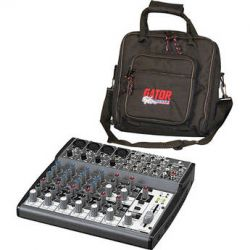 Behringer XENYX 1202 12-Channel Mixer with Padded Bag Kit B&H