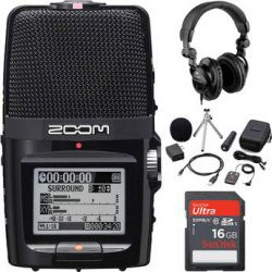 Zoom  H2n Portable Recorder Value Pack  B&H Photo Video