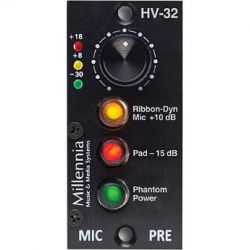 Millennia HV-32 1-Channel Microphone Preamplifier Module HV-32