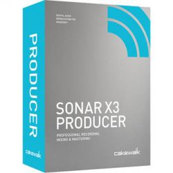 Cakewalk Sonar X3 Producer - Professional Recording, CXSP300-1RR