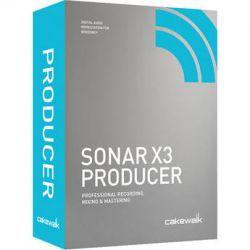 Cakewalk Sonar X3 Producer - Professional Recording, CXSP300-10C