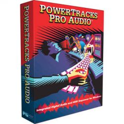PG Music PowerTracks Pro Audio Multi-Track Sequencer BBE30764