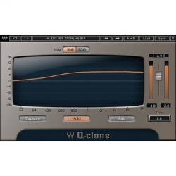 Waves Q-Clone - EQ Preset Modeling Plug-In for MultiRack QCLNSG