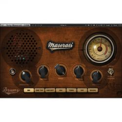 Waves Maserati DRM - Drum Slammer Plug-In (Native) TMDRMNA B&H