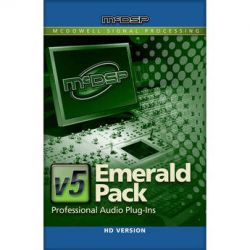 McDSP Emerald Pack HD v5 - Complete Music Production M-B-EP B&H