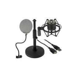 B&H Photo Video Desktop USB Microphone Essentials Kit B&H Photo