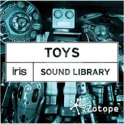 iZotope Toys - Sound Library Expansion SOUND LIBRARY: TOYS B&H
