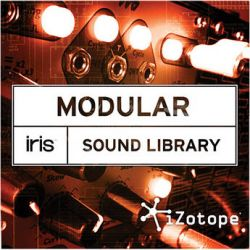 iZotope Modular Sound Library Expansion SOUND LIBRARY: MODULAR