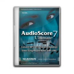 Sibelius AudioScore Ultimate 7 - Polyphonic Music 9910-65076-00