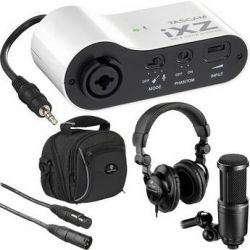 Tascam  Tascam iXZ Mini Recording Package  B&H Photo Video