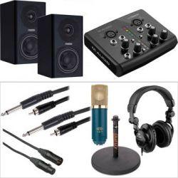 M-Audio M-Audio M-Track Audio Recording Interface and MXL V67G