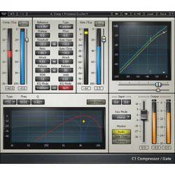 Waves C1 Parametric Compander - Dynamics Plug-In (TDM) V5-C1D40