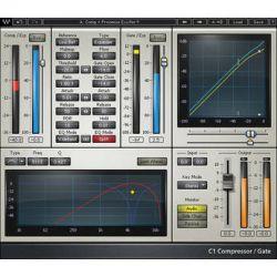 Waves C1 Parametric Compander - Dynamics Plug-In V5-C1N40 B&H