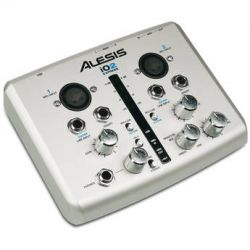Alesis iO2 Express USB Audio Interface IO2 EXPRESS B&H Photo