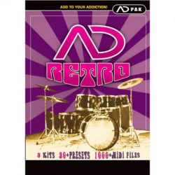 Big Fish Audio Retro ADpack - Percussion Sample Expansion RADP1