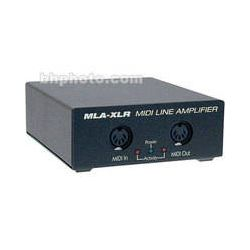 JLCooper  MLA-XLR MIDI Line Amplifier MLA-XLR B&H Photo Video