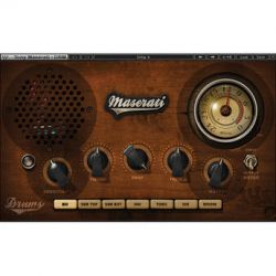 Waves Maserati DRM - Drum Slammer Plug-In for MultiRack TMDRMSG