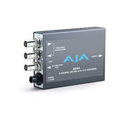 AJA 4-Channel Bi-Directional Audio A/D & D/A Converter ADA4