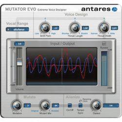Antares Audio Technologies MUTATOR Evo - Extreme Voice 35702E