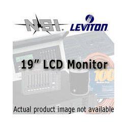 "NSI / Leviton LCD Flat Screen Monitor - 19"" TAMON002F19 B&H"