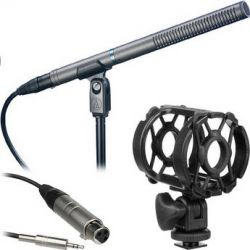 Audio-Technica  AT897 - Shotgun Microphone Kit  B&H Photo Video