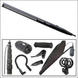 Sennheiser Deluxe Shotgun Microphone Kit and Right Angled XLR