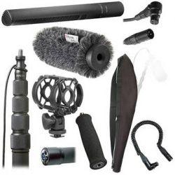 Sennheiser MKH 8060 Deluxe Shotgun Microphone Kit B&H Photo