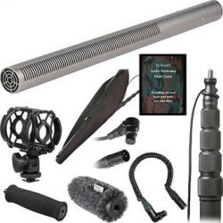 Rode  NTG-3 Deluxe Shotgun Microphone Kit  B&H Photo Video