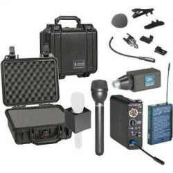 Lectrosonics 100 Series Wireless Microphone Deluxe Kit B&H Photo