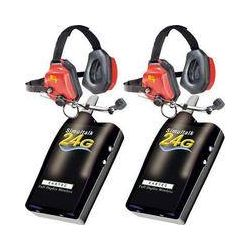 Eartec 2 Simultalk 24G Beltpacks with Xtreme Headsets SLT24G2XT