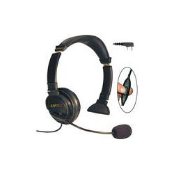 Eartec Lazer Headset with Inline PTT & 2-Pin LZKW3300IL B&H