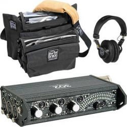 Sound Devices 302 Portable 3-Channel Field Mixer and Porta B&H