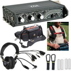 Sound Devices 302 ENG/EFP Deluxe Field Mixer Kit B&H Photo Video