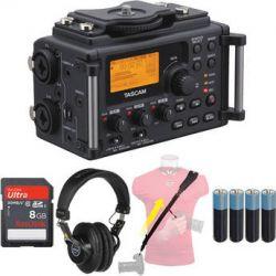 Tascam  Tascam DR-60D Field Pack Kit  B&H Photo Video