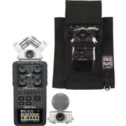 Zoom  H6 Handy Recorder and Case Kit  B&H Photo Video