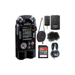 Olympus  LS-100 Portable Recorder Value Pack  B&H Photo Video