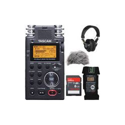 Tascam  DR-100mkII Portable Recorder Value Pack  B&H Photo Video