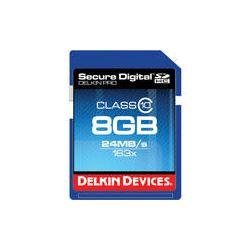 Delkin Devices 8GB SDHC Memory Card Pro Class 10 DDSDPRO3-8GB