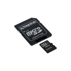 Kingston 32GB microSDHC Memory Card Class 4 With SD SDC4/32GB