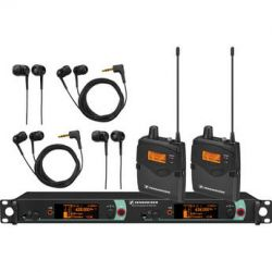 Sennheiser Dual Channel Stereo IEM System B 2000IEM2-B B&H Photo